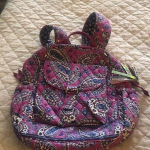 Handbags - Vera Bradley backpack